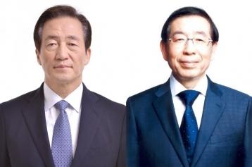 서울시장 후보 정몽준-박원순, 32개 정책현안에서 입장차 보여